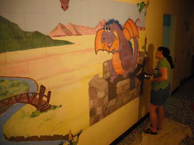 Nursery School Mural, St, Isidore's, Vineland, N.J.