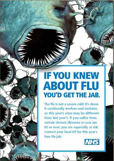flu jab Photo credit: Jocks Studios. Click through to see Paul Wagner and Mike ...