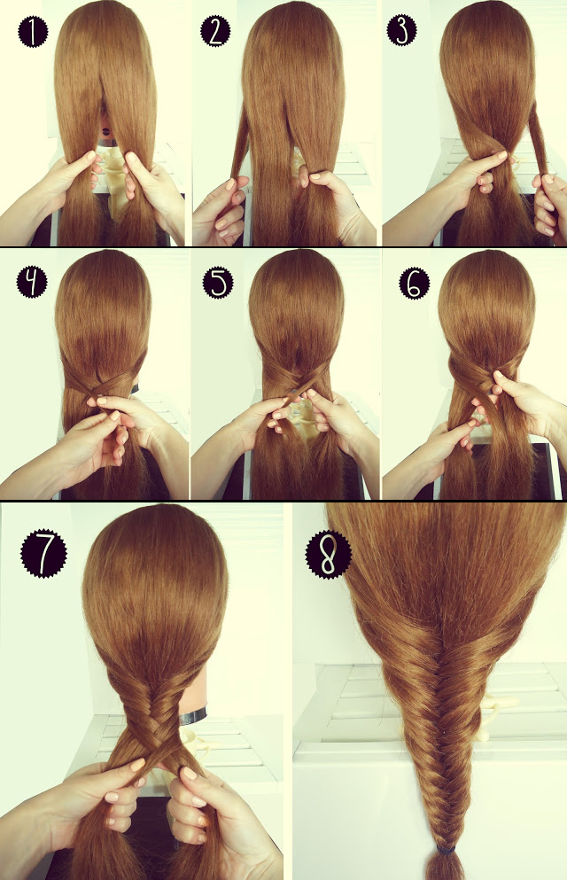 Three Easy Step By Step Hair Style Tutorials.