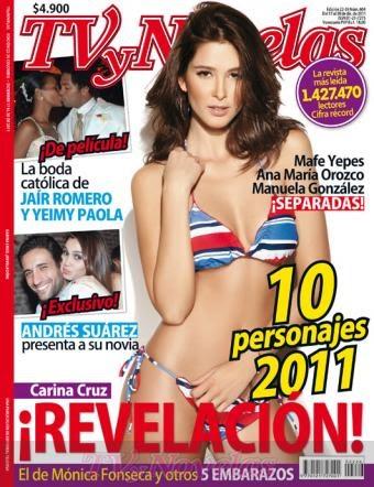 Carina cruz revista tv y novelas portada 17 de diciembre blog de