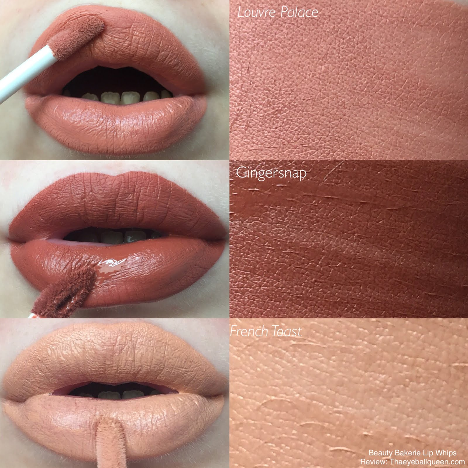 Beauty Bakerie Cosmetics Lip Whips Review w/ Swatches ...
