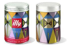 scatola di latta illy caffè art collection