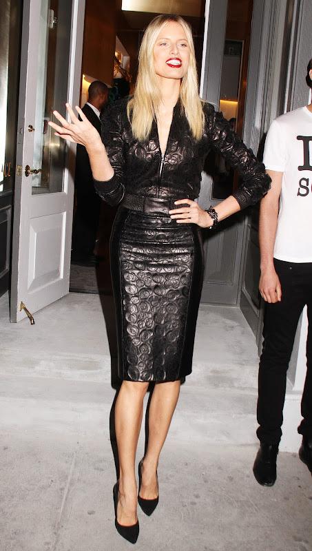 Karolina Kurkova attends Versace Soho Store Opening in NY