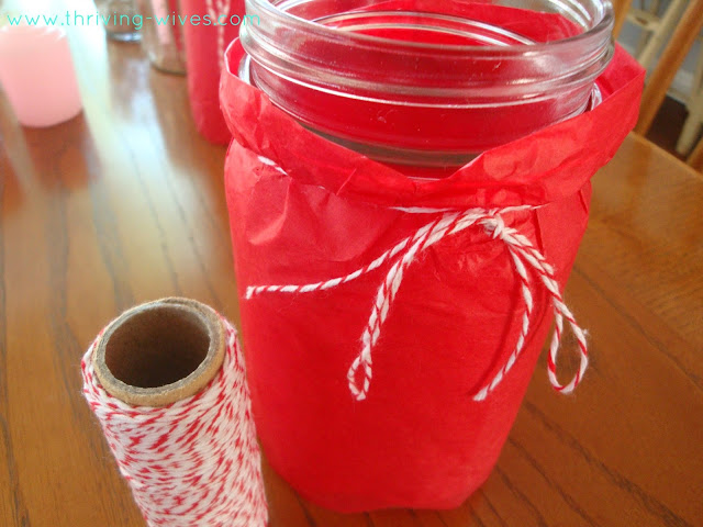 DIY Mason Jar/Paper Lanterns