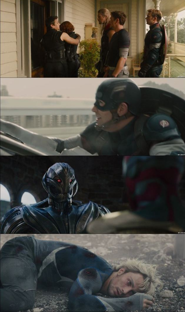 Avengers Age of Ultron 2015 Dual Audio Hindi BluRay 720p