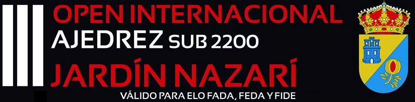 IIIOpen Internacional Jardín Nazari