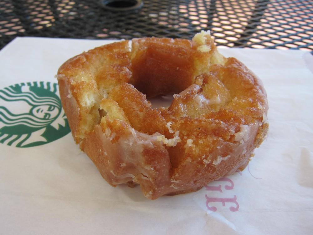 Dunkin Donuts Glazed Old Fashioned Donut