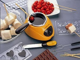 Electric Chocolate Melting Pot Chocolatiere