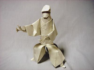 origami human