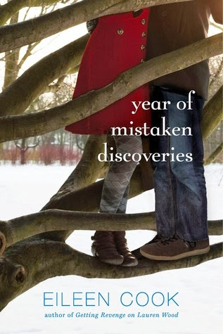 book cover of Year of Mistaken Discoveries by Eileen Cook