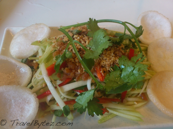 Green Mango Salad with Caramelized Dried Shrimp