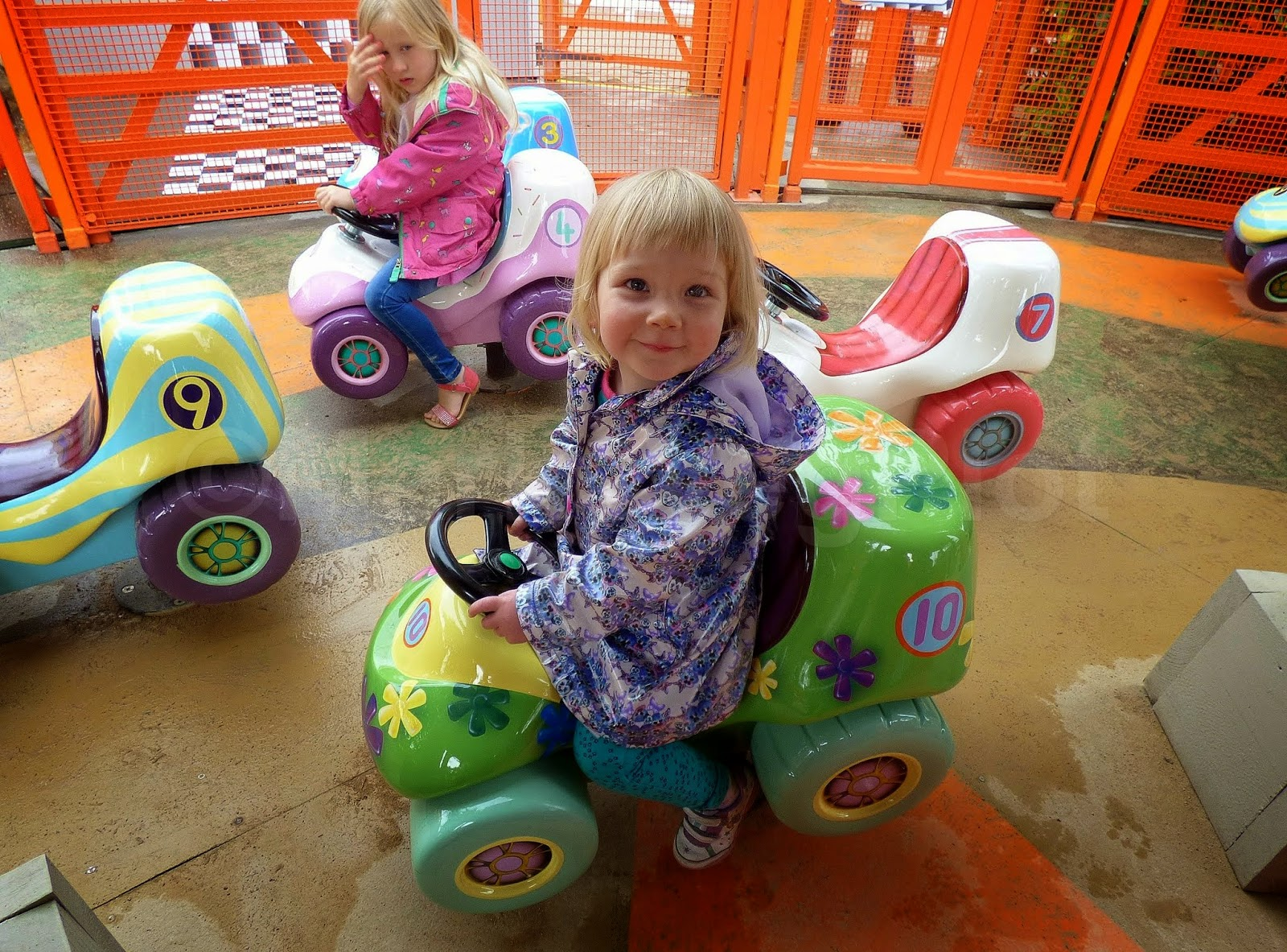 Numtums ride at CBeebies Land