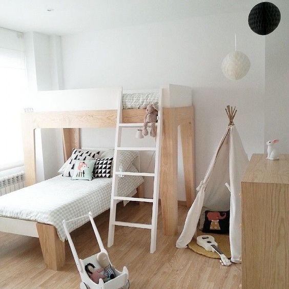 Decore quartos pequenos com beliches reciclar e decorar blog de decora o e reciclagem - Room bebe cocktail scandinavian ...