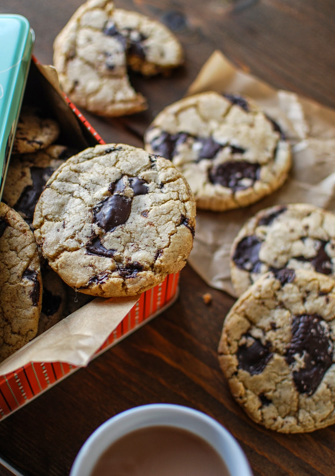 The only chocolate chip cookie recipe you'll ever need.
