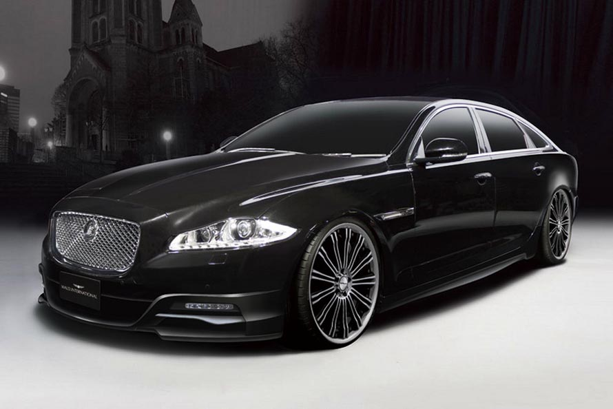 weirdest car jaguar xj black. Black Bedroom Furniture Sets. Home Design Ideas