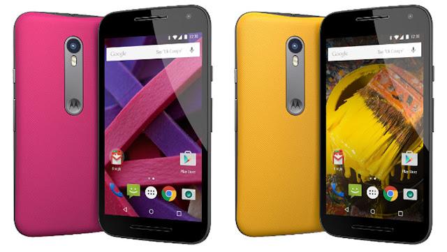 Motorola Moto G generasi ketiga resmi diperkenalkan, harga 2 jutaan sudah anti air dan debu