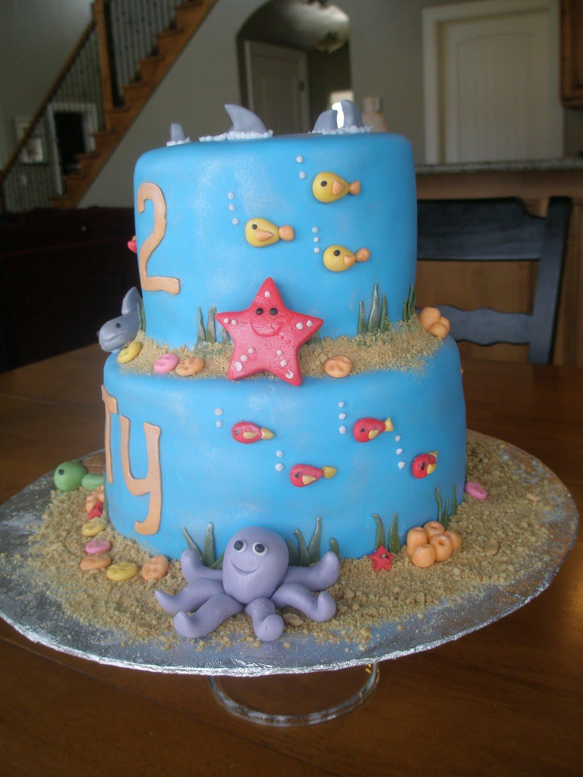 Angies Cakes Shark Fish Cake