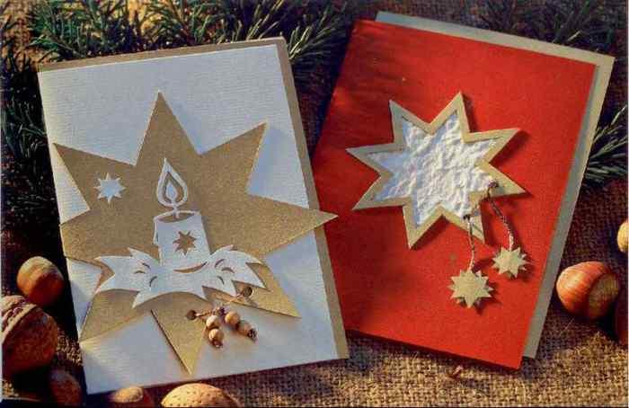 Открытки своими руками святое рождество