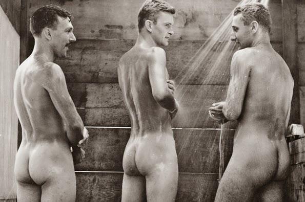 Soldados en Irak desnudos