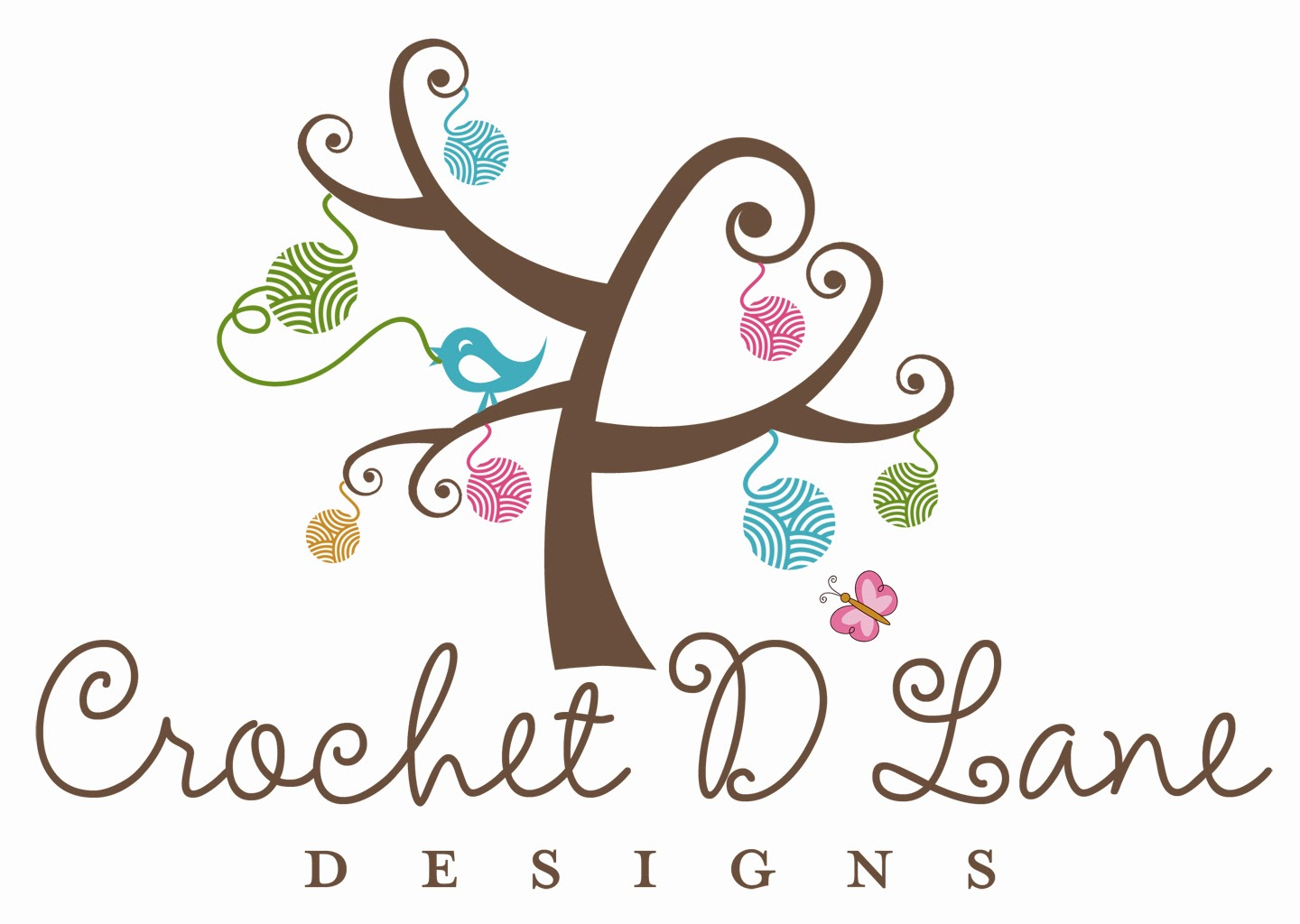 Crochet Logo crochet d lane: new logo