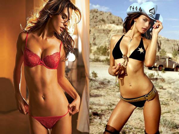 Fashion Models and Actress: Alessandra Ambrosio Bikini images Ivanka Trump