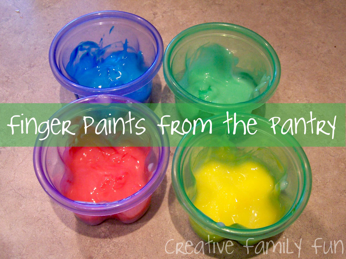 Finger Painting - Creative Family Fun