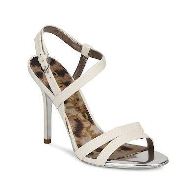 cream sandals