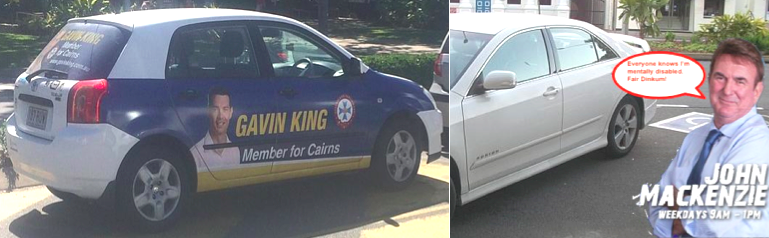 MP JOHN MACKENZIE AND HIS BOOTLICKER GAVIN KING SHARE THE SAME ETHICAL SYSTEM - NONE!