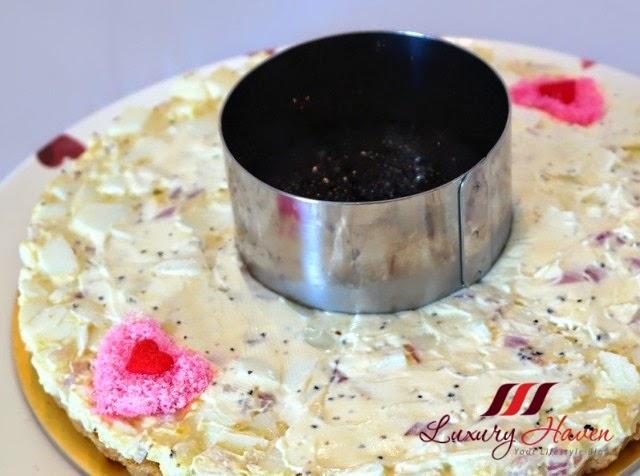 pink sakura denbu heart shape caviar recipe