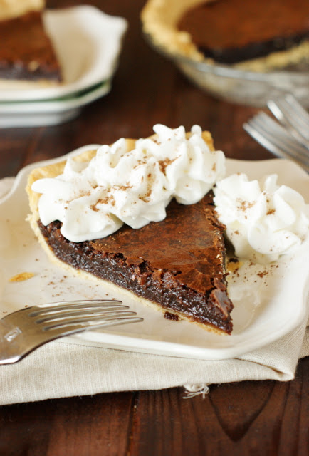 Sweet Little Bluebird: Chocolate Crack Pie - Weekend ...