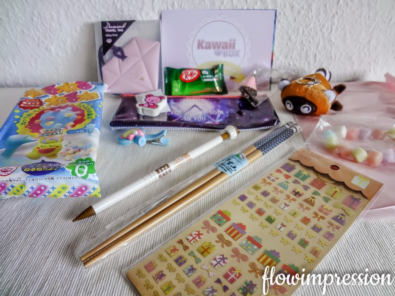 Kawaii Box unboxing Februar