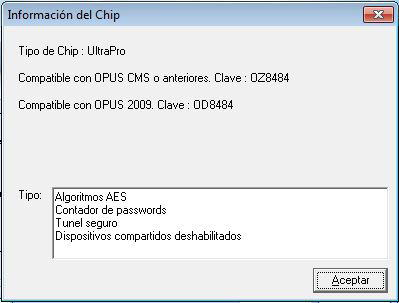 Validación de Chip Opus Planet