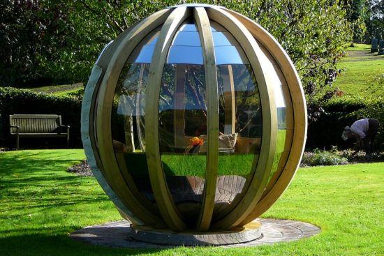 ephemeral isle rotating garden pods