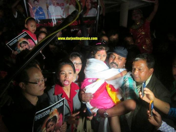 DID Little Master contestant Anushka Chettri reached Darjeeling
