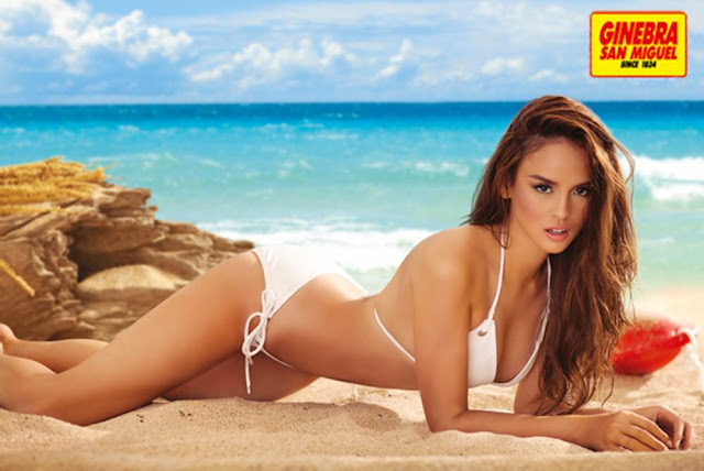 Georgina Wilson is Ginebra's 2013 calendar girl