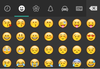 Sad Happy Emoticons