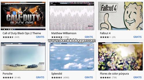 Fondos gratis para tu navegador Google Chrome
