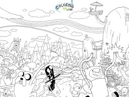Zootopia Characters Coloring Pages