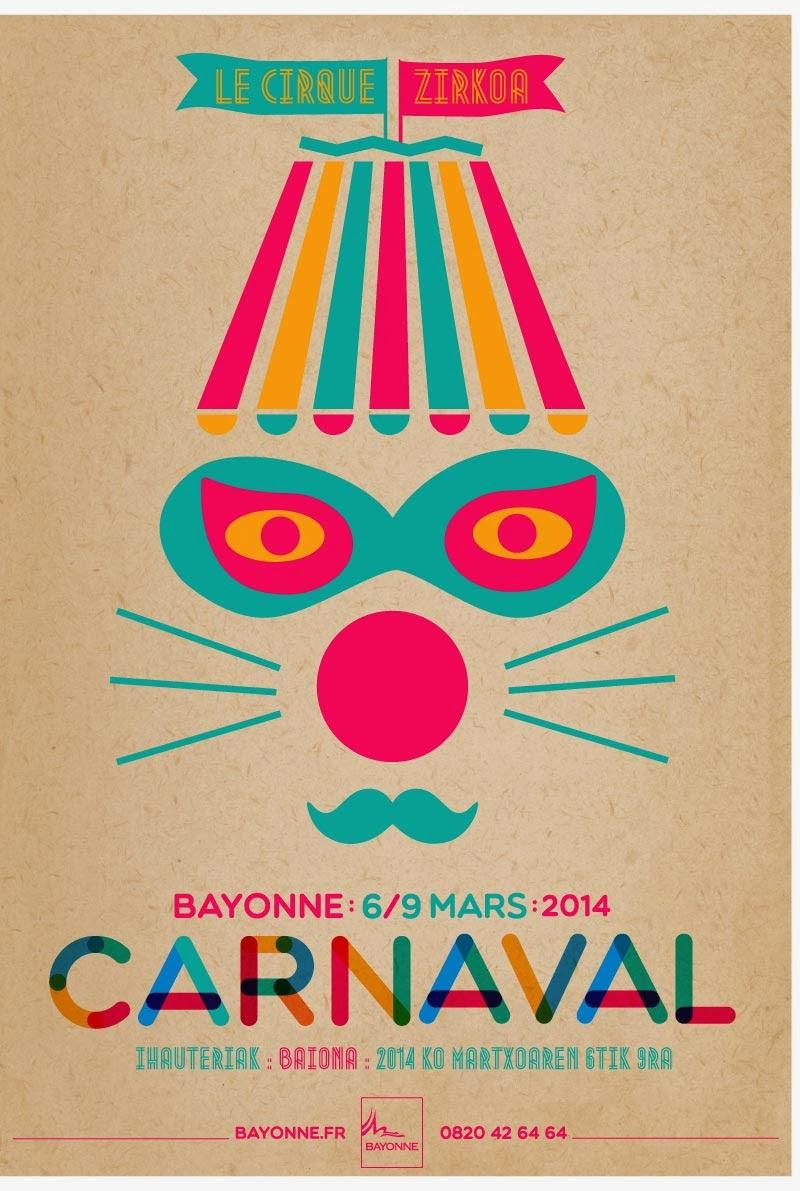 Carnaval de Bayonne 2014 Le Cirque