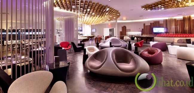 Virgin Atlantic JFK Clubhouse, John F Kennedy International Airport, New York