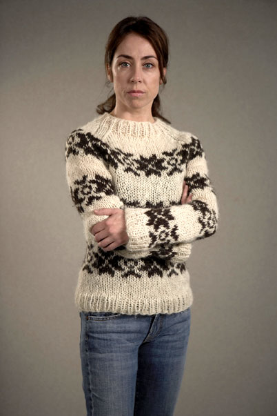 Sarah Lund and her sweater
