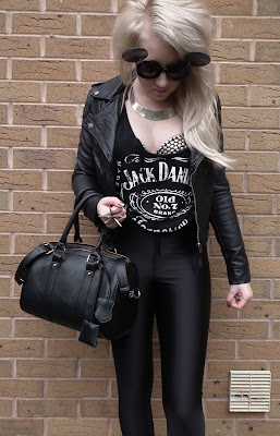 Sammi Jackson - Black, white, studs & spikes