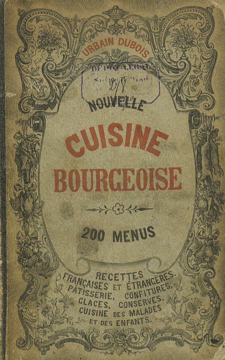 La cuisine fran aise d 39 antan les sauces bordelaise for La cuisine d antan