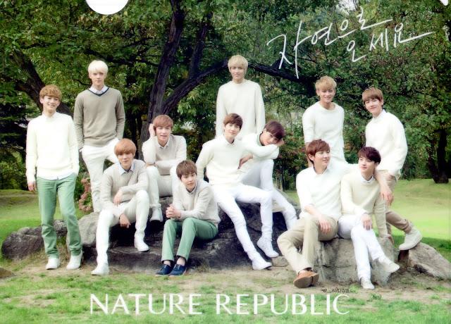 Image of EXO for Nature Republic - pinknomenal.blogspot.com