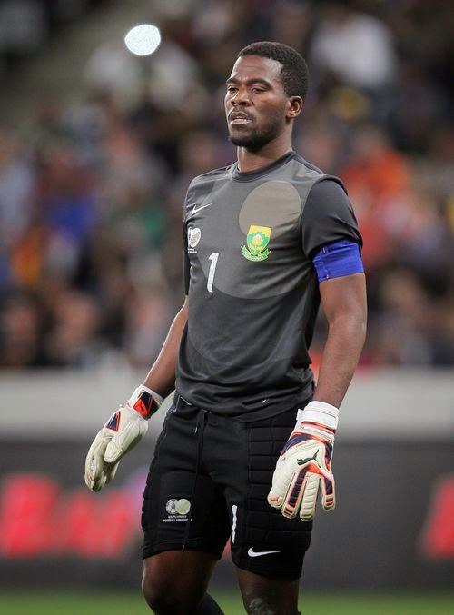 South Africa goalkeeper Senzo Meyiwa