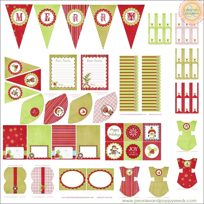 It's Written on the Wall: {Freebie} Christmas Printables Mega Pack 1 ...