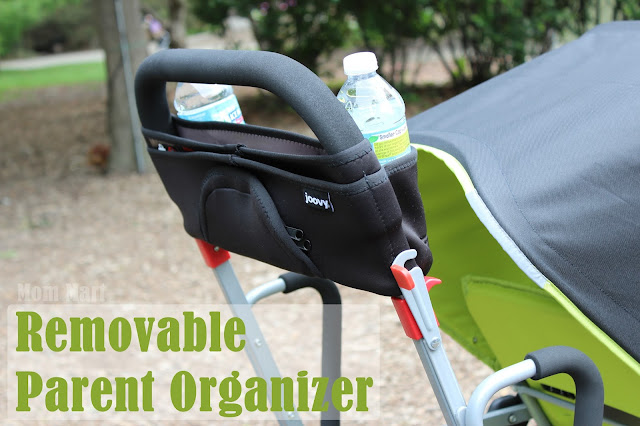 Joovy Caboose Too Ultralight Stroller Parent Organizer
