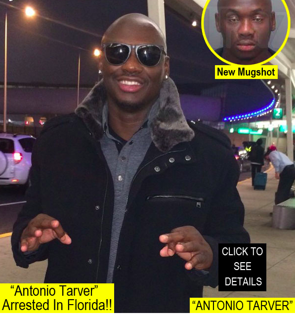 "Boxer ""Antonio Tarver"" Arrested In Florida on Saturday ..."