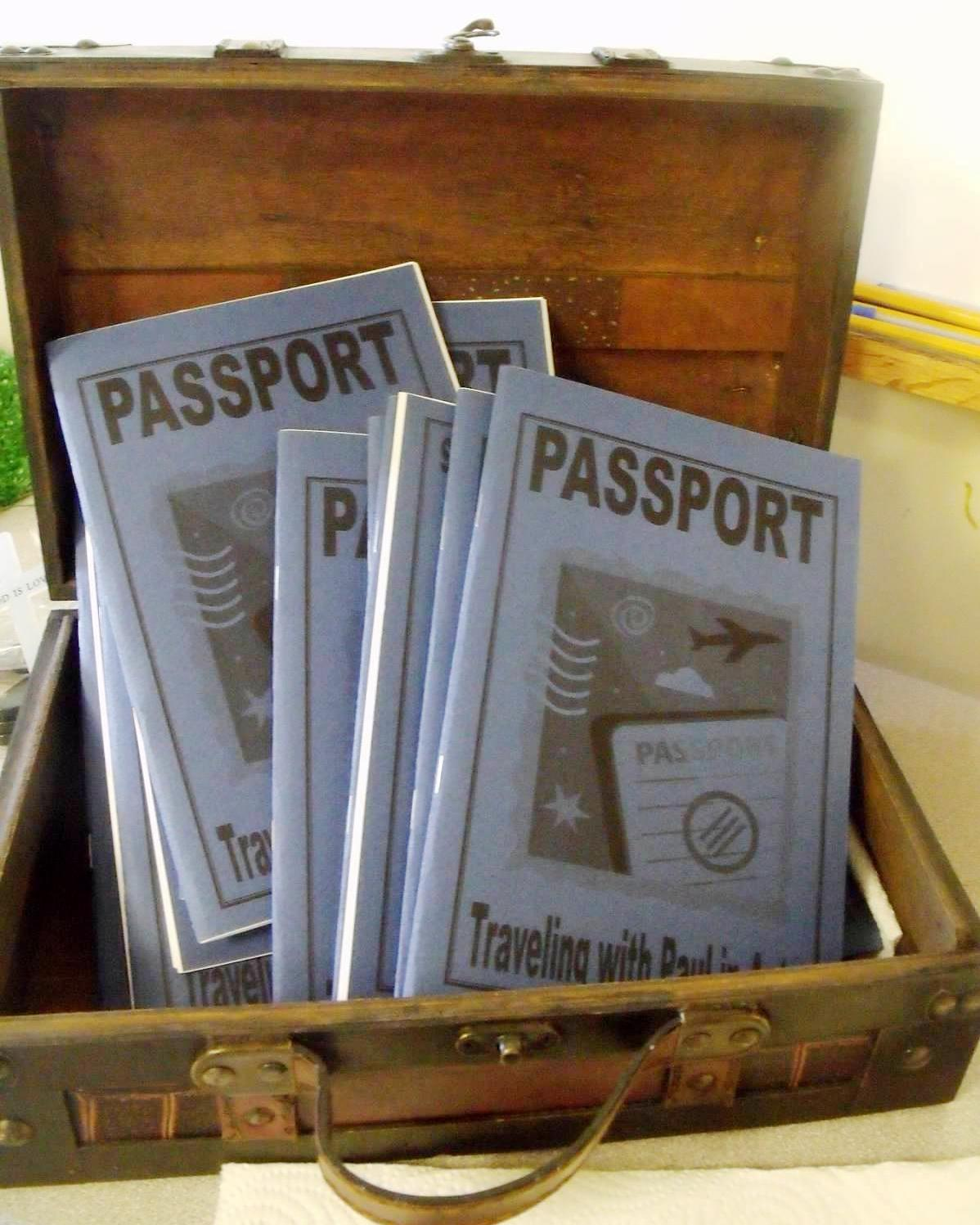 Acts Passports Bible Fun For Kids: Acts Passports How To Get