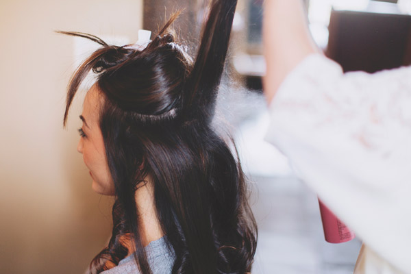 Hair Make Steph Liz Lee